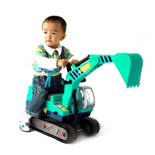 儿童挖土机视频